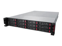 BUFFALO TeraStation 5010 Series TS51210RH3204 - NAS server - 12 bays - 32 TB - rack-mountable - SATA 6Gb/s - HDD 8 TB x 4 - RAID 0, 1, 5, 6, 10, JBOD, 51, 61 - RAM 8 GB - Gigabit Ethernet - iSCSI - 2U