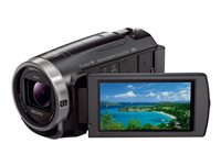 Sony Handycam HDR-CX675 Camcorder 1080p / 60 fps 2.29 Mpix 30x optical zoom flash 32 GB