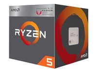 AMD Ryzen 5 2400G - 3.6 GHz - 4 cœurs - 8 filetages - 4 Mo cache - Socket AM4 - Box