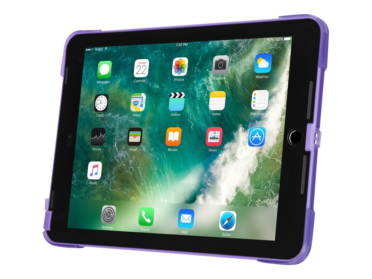 Targus SafePORT Rugged Case for iPad (5th gen./6th gen.), iPad Pro (9.7-inch), and iPad Air 2, Purple - protective case…
