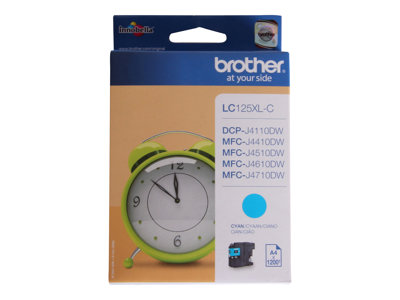 Brother Brother LC125XL - cyan - cartouche d'encre originale
