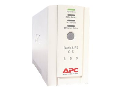APC Back-UPS CS 650 UPS AC 230 V 400 Watt 650 VA RS-232, USB output connectors: 4