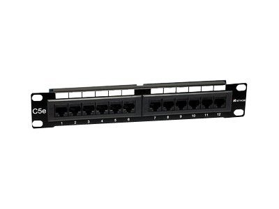 Intellinet - Patch Panel - RJ-45 X 12 - 1U - 25.4 cm (10