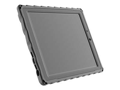 Gumdrop Drop Tech Back cover for tablet rugged rubber black, clear -