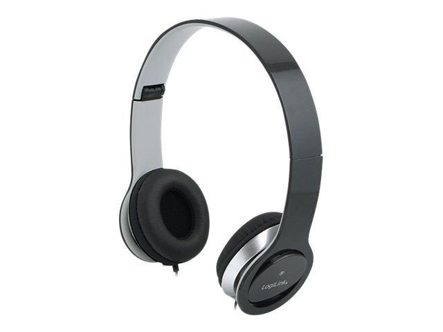 LogiLink Stereo High Quality Headset - Headset - Full-Size - Schwarz