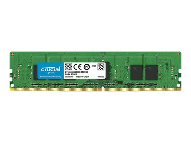 Image of Crucial - DDR4 - 4 GB - DIMM 288-pin - registered