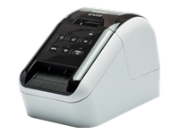 Brother QL-810W - Label printer - two-colour (monochrome) - thermal paper - Roll (6.2 cm) - 300 x 600 dpi - up to 176 mm/sec - USB 2.0, Wi-Fi(n)*** Claim a £20 End-User Cashback from 1st January 2018 redeemable directly from Brother via http://www.brother.co.uk/latest-promotions ***