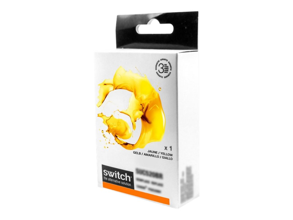 compatibles Brother  Brother LC123 compatible Switch - jaune - cartouche d'encre