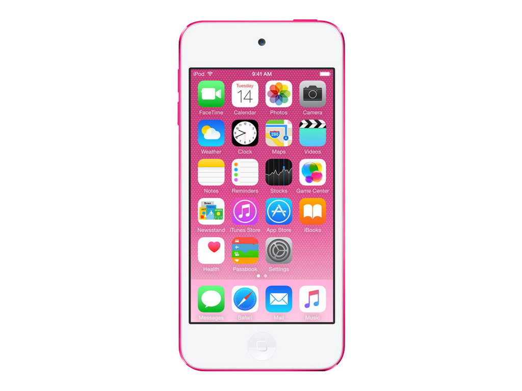 Apple iPod touch - 6. Generation - Digital Player - Apple iOS 8 - 32 GB - pink