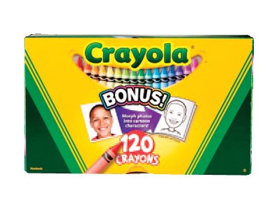 Crayola Crayon assorted colors pack of 120