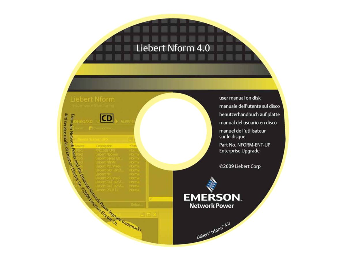 Liebert OpenComms Nform - license - 500 devices