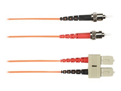 Black Box patch cable - 2 m - orange