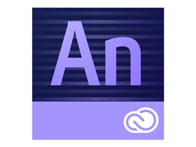 Adobe Edge Animate CC Subscription license renewal 1 user GOV Value Incentive Plan