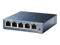 TP-Link TL-SG105 5-Port Metal Gigabit Switch - Switch