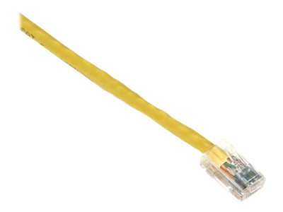 Black Box GigaTrue CAT6 Channel 550-MHz Patch Cable with Basic Connector - patch cable - 3 m - yellow