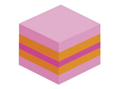 La sélection de Sophie Fantasy Mini-cube Post-it Plaisir - 51 x 51 mm