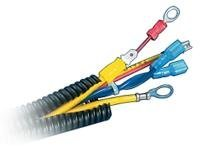 Panduit Corrugated Loom Tubing cable concealer