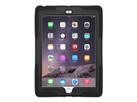Amzer Tuffen Case Back cover for tablet silicone black 7.9INCH with screen protector