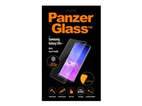 PanzerGlass Case Friendly sort, Krystalklar for Samsung Galaxy S10+