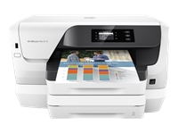 HP Officejet Pro 8218 - Printer - colour - Duplex - ink-jet - A4 - 1200 x 1200 dpi - up to 20 ppm (mono) / up to 16 ppm (colour) - capacity: 500 sheets - USB, LAN, Wi-Fi(n)