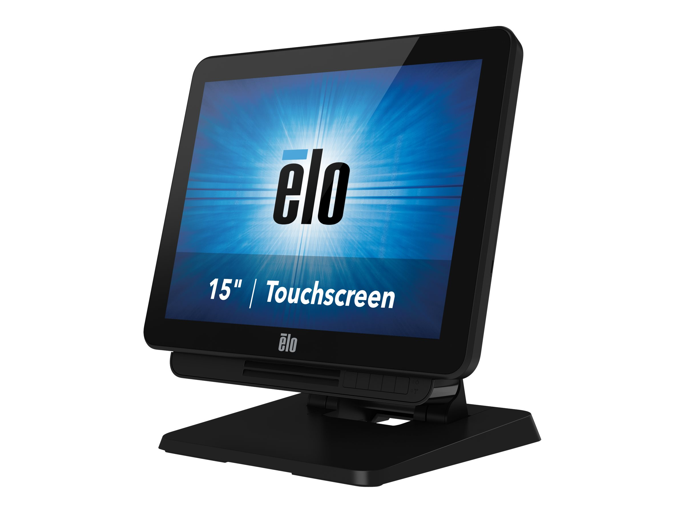 Elo Touchcomputer X3-15 - All-in-One (Komplettlösung) - 1 x Core i3 4350T / 3.1 GHz - RAM 4 GB - SSD 128 GB - HD Graphics 4600
