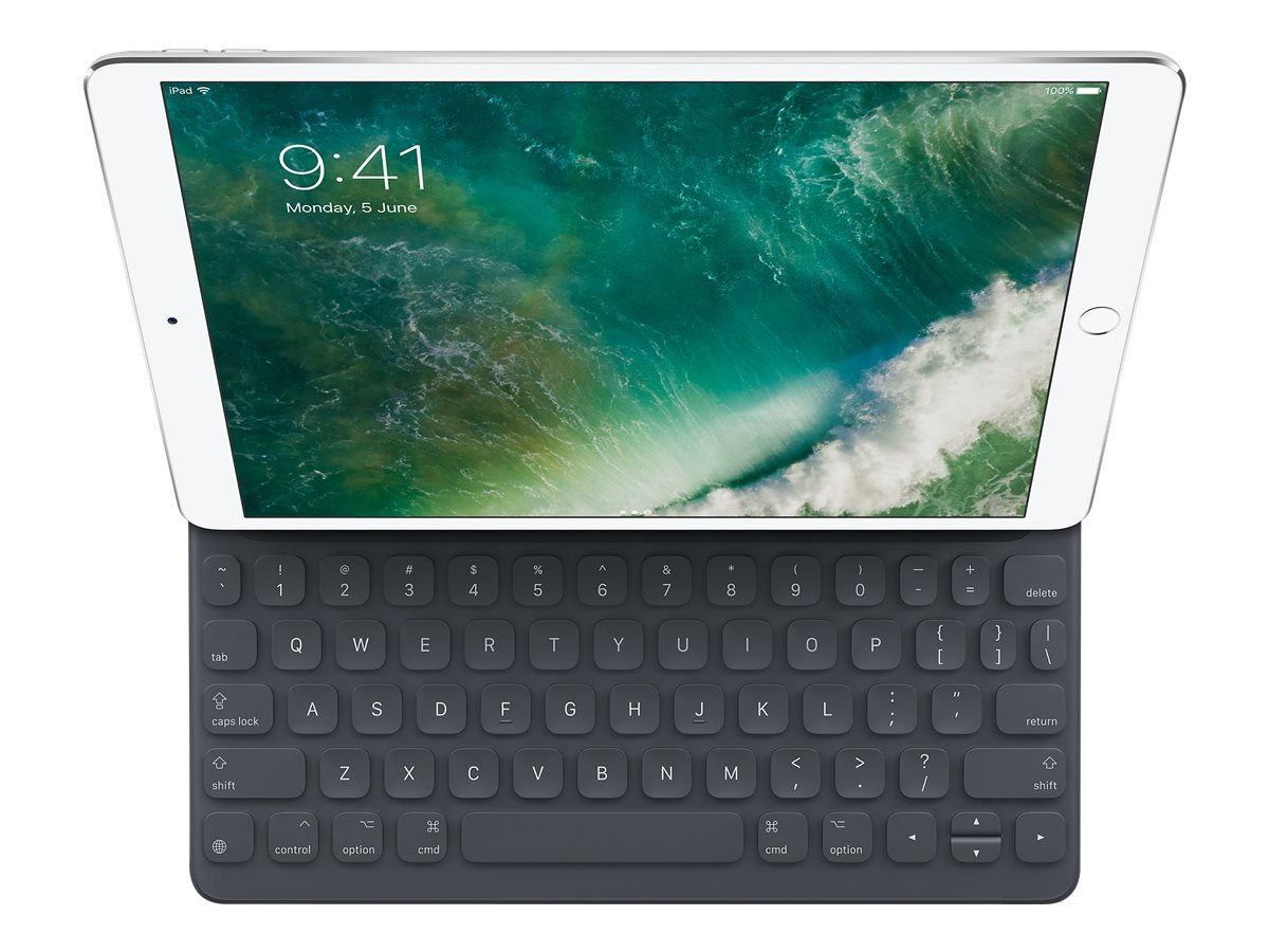 Apple Smart - Tastatur und Foliohülle - Apple Smart connector - Englisch - US - für 10.5-inch iPad Pro