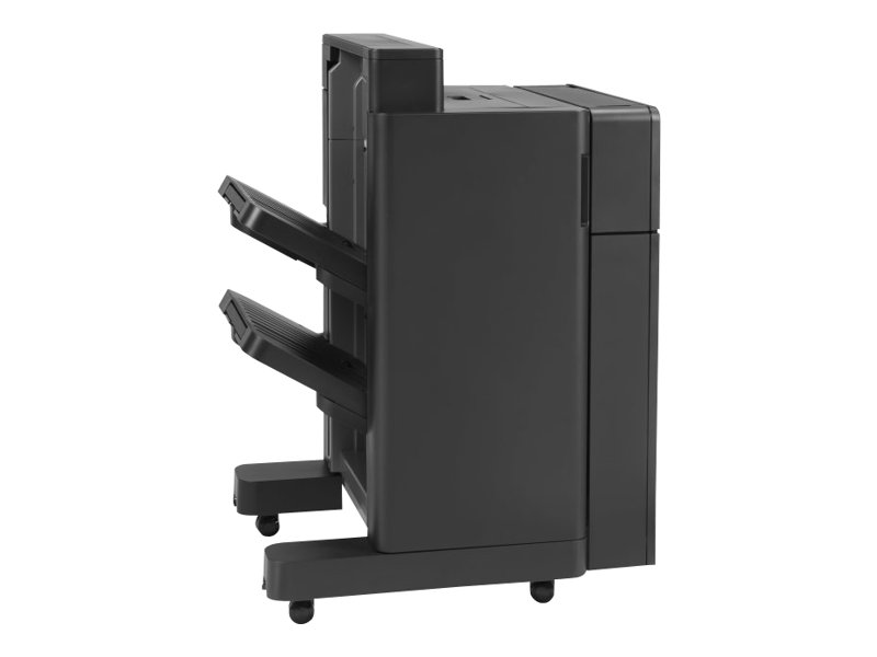 HP Stapler/Stacker with 2/4 hole punch - Finisher mit Stapel-/Heftvorrichtung - 2/4-Loch - 500 Blätter in 1 Schubladen (Trays) - für LaserJet Enterprise Flow MFP M880; LaserJet Managed Flow MF