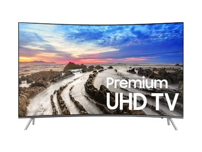 Samsung UN55MU8500F 55INCH Class (54.6INCH viewable) 8 Series curved LED TV Smart TV