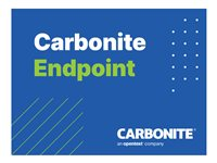 Carbonite Endpoint Standard Edition Subscription license (1 year) 1 seat volume
