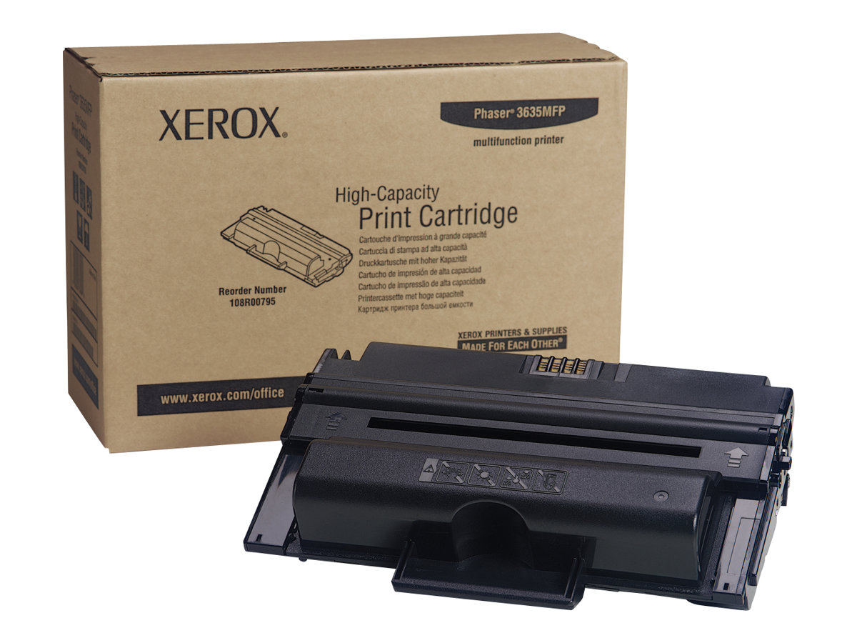 Xerox Phaser 3635MFP - High Capacity - black - original - toner cartridge