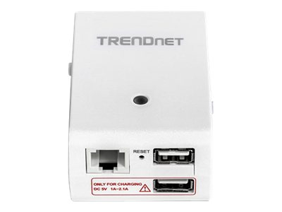 TRENDnet TEW-714TRU Wireless router 802.11b/g/n 2.4 GHz wall-pluggable