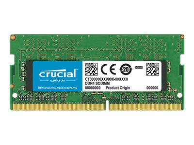 Crucial DDR4  16GB 3200MHz CL22  Ikke-ECC SO-DIMM  260-PIN