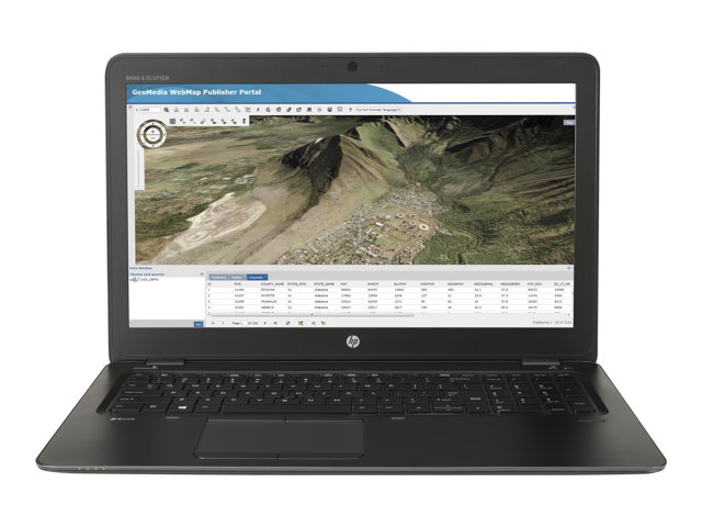 T7W11ET#ABU - HP ZBook 15u G3 Mobile Workstation - 15 6