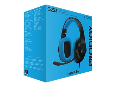 Gaming Headset G233 Prodigy - casque