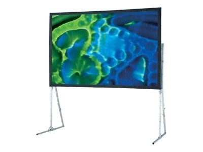 Draper Ultimate Folding Screen Projection screen with heavy duty legs rear 220INCH (220.1 in)