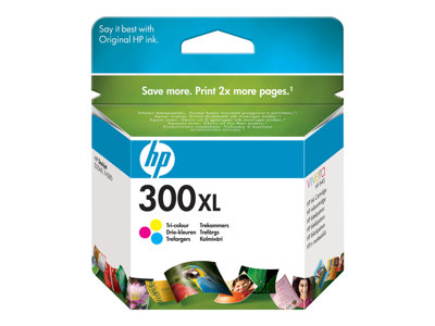 HP 300XL  tricolor 440 sider