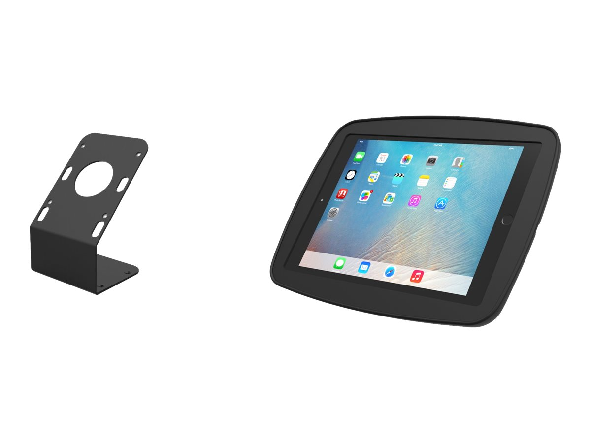 Compulocks HyperSpace Rugged iPad Enclosure with 45 degree Security Kiosk Stand - mounting kit