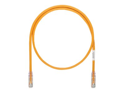 Panduit TX6A-SD 10Gig patch cable - 30 m - orange