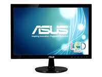 ASUS VS197T-P LED monitor 18.5INCH 1366 x 768 250 cd/m² 5 ms DVI-D, VGA speakers -