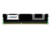 Crucial - DDR3 - 8 GB - DIMM 240-pin - 1866 MHz / PC3-14900 - CL13 - 1.5 V - registered - ECC