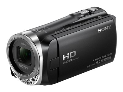 Sony Handycam HDR-CX455 Camcorder 1080p / 60 fps 2.29 Mpix 30x optical zoom Carl Zeiss