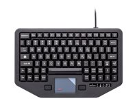 iKey K-TR-911-RED Keyboard with touchpad backlit USB