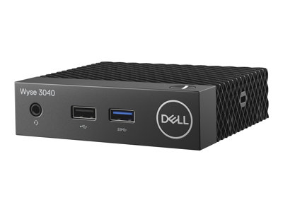 Dell Wyse 3040 Thin client DTS 1 x Atom x5 Z8350 / 1.44 GHz RAM 2 GB flash eMMC 8 GB