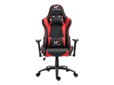 Nordic Gaming Racer Chair Red Black