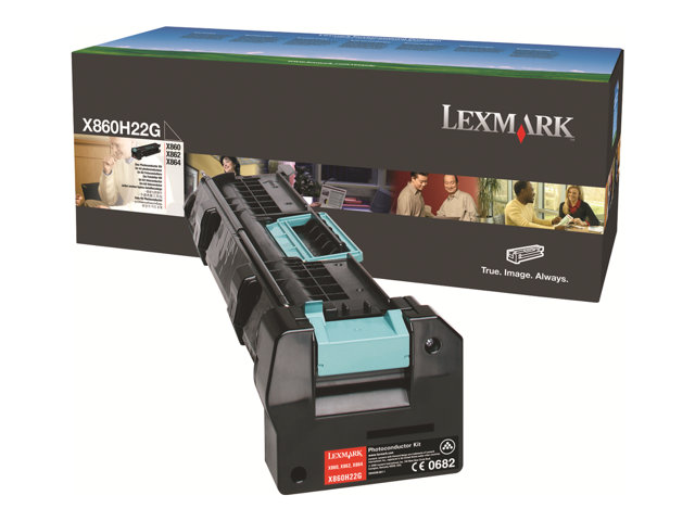 Lexmark - Black - photoconductor kit LCCP - for Lexmark X860de 3, X860dhe 4, X862de 4, X862dte 3, X862dte 4, X862dtfe 4, X864dhe 3