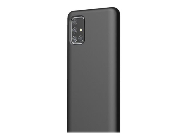 KDLab Typoskin Cover - Back cover for cell phone - liquid silicone - black onyx