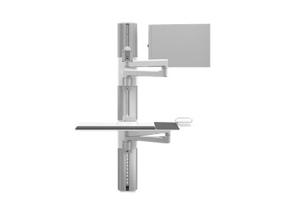 Humanscale ViewPoint Technology Wall Station V/Flex - mounting kit