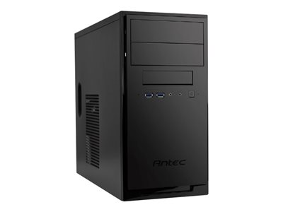 Antec New Solution NSK3100 Tårn Mini ITX / micro ATX Ingen strømforsyning Sort