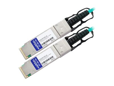 AddOn - 100GBase-AOC direct attach cable - TAA Compliant - QSFP28 to QSFP28