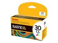 Kodak Color Ink Cartridge, 30CL - Colour (cyan, magenta, yellow) - original - ink cartridge - for ESP 1.2, C110, C310, Office 2150, Office 2170; HERO 5.1